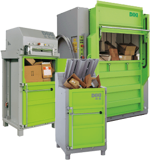Group of waste balers